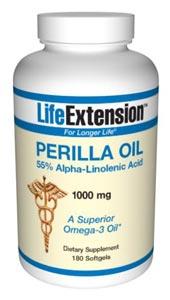 Perilla Oil 1000 Mg 180 Softgels Plus Where To Buy