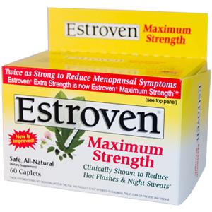 Estroven maximum strength 60 caplets